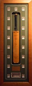 Framed The-Invincibles-Signed-Cricket-Bat-