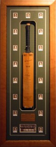 Framed The-Invincibles-Signed-Cricket-Bat