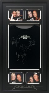 Framed-Metallica-Shirt