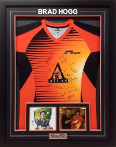 Framed-Brad-Hogg-Signed-Shirt