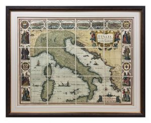 Framed-Canvas-Map