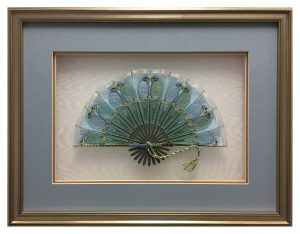 Framed-Embroidered-Fan