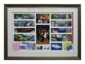 Framed Ocean-Cruise-Holiday-Collage