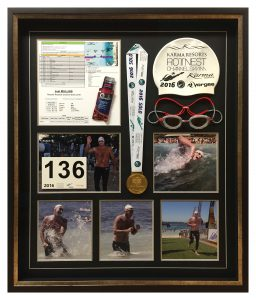 Framed Rotto-Swim-Collage