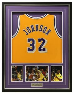 Framed-Magic-Johnson-Shirt