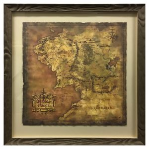 Framed-and-Top-Mounted-Map