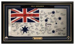 Framed-Navy-Flag
