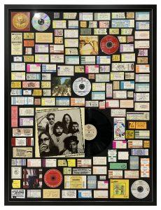 Framed-Concert-Tickets-Collage