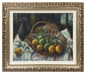 Framed-Oil-on-board-with-two-frames