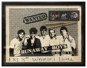 Framed-Poster-with-Photos-and-Drumsticks